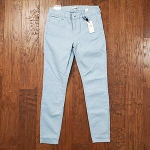 Dex Super Skinny Ankle Jeans Light Blue 29 NWT
